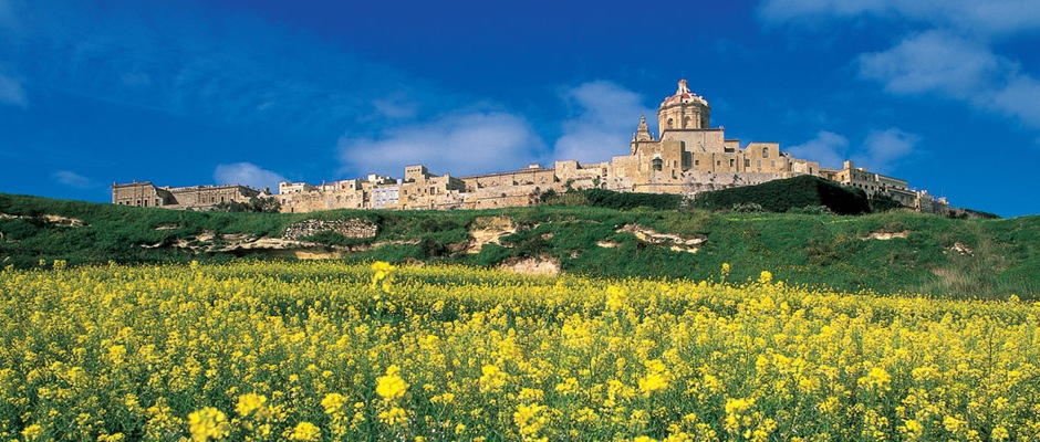 The Medieval walled town of Mdina
